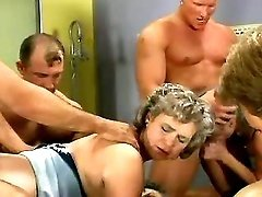 Old hairy housemaids orgy