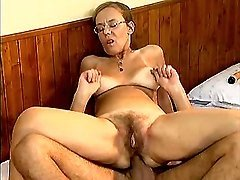 Kinky old woman assfucked